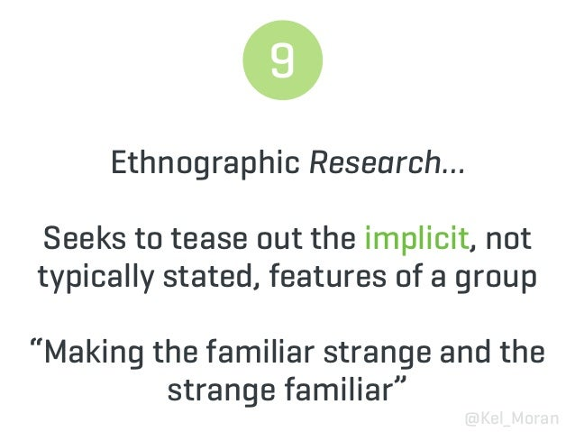 WHAT IS  DESIGN ETHNOGRAPHY? 3 things to know