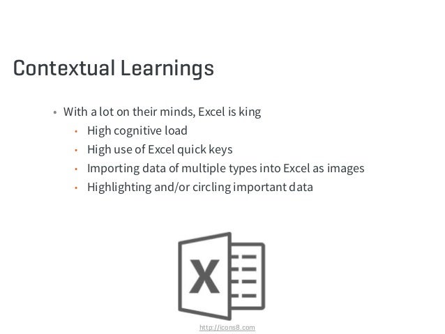 """Contextual Learnings (continued) • The problem goes beyond the system • Lack of technical support • The """"real work"""" was do..."""