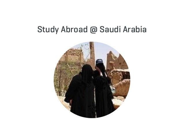 Study Abroad @ Saudi Arabia