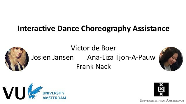 To what extent can choreographers be supported by semi-automatic dance analysis and the generation of new creative element...