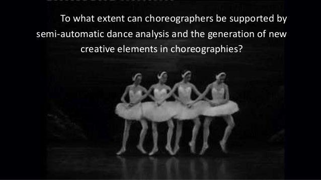 Questionnaire 54 Dutch choreographers Online questionnaire