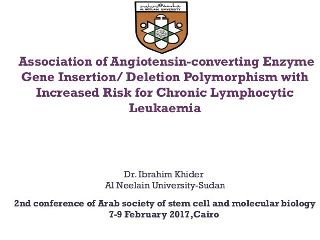 Association of Angiotensin-converting Enzyme Gene Insertion