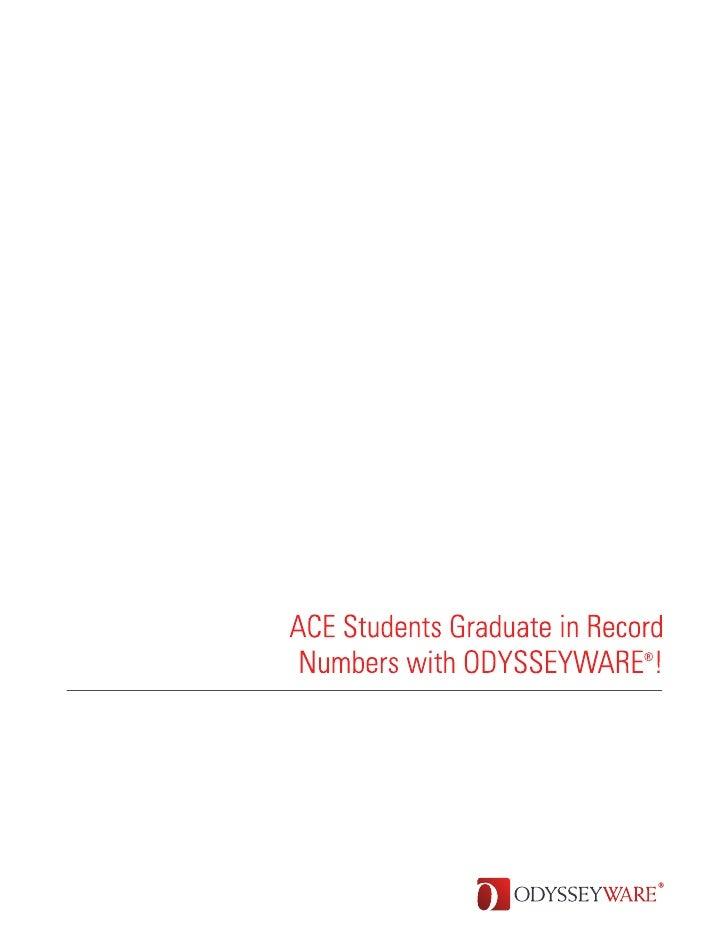Ace Charter High ODYSSEYWARE Case Study