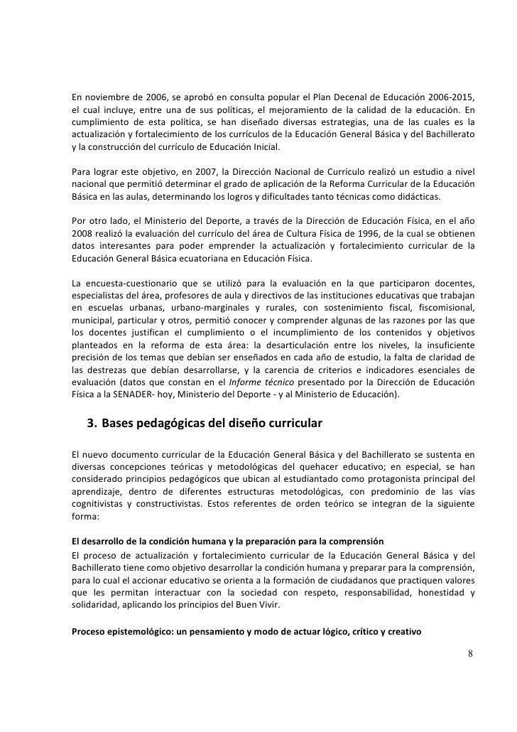Ac ed fisica basica for Nuevo curriculo de educacion inicial
