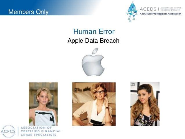 Members Only Human Error Apple Data Breach