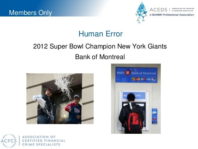 Members Only Human Error 2012 Super Bowl Champion New York Giants Bank of Montreal