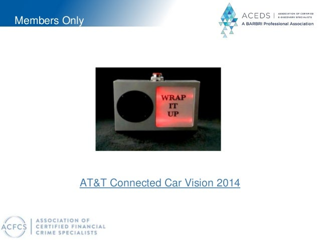 Members Only AT&T Connected Car Vision 2014