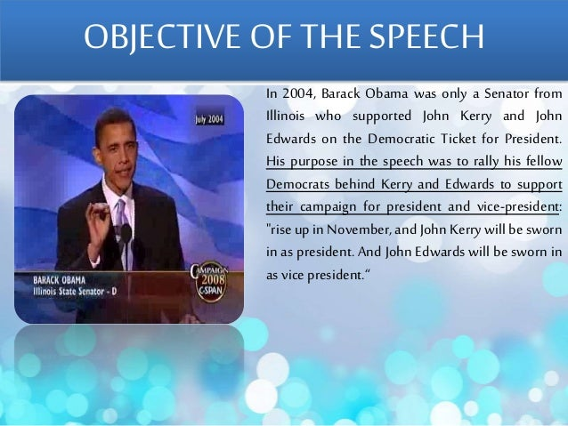 obama speech critique Sample of the critique of barack obama's speech essay (you can also order custom written the critique of barack obama's speech essay.