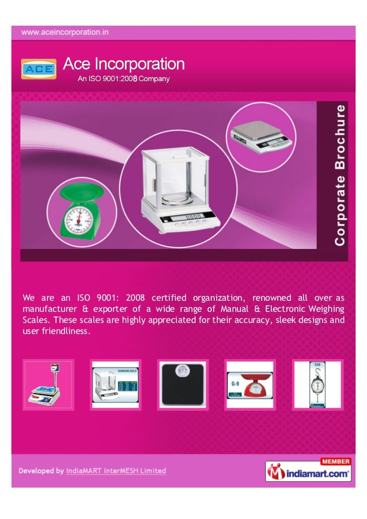 We are an ISO 9001: 2008 certified organization, renowned all over asmanufacturer & exporter of a wide range of Manual & E...
