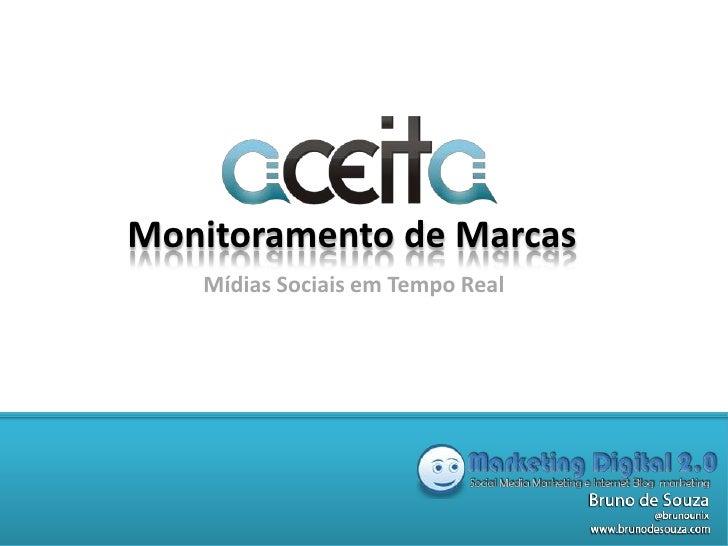 Aceita MS - Ferramenta Brasileira para Monitorar as Midias Sociais