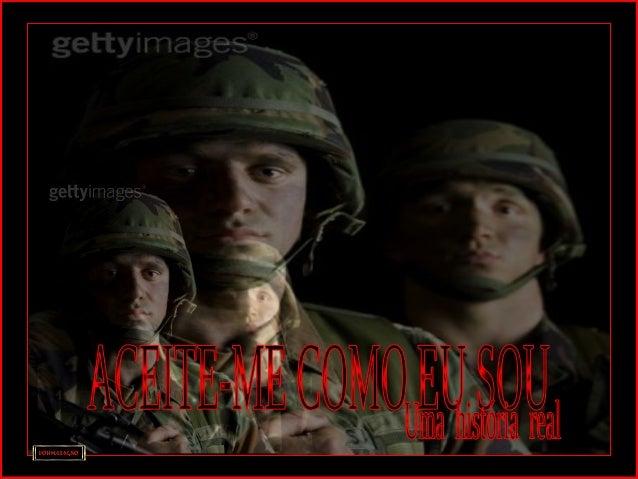 Esta é a história de um soldado que, finalmenteEsta é a história de um soldado que, finalmente voltava para casa, depois d...