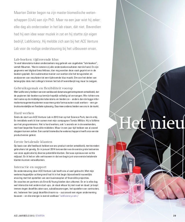 Maarten Dokter begon na zijn master biomedische wetenschappen (UvA) aan zijn PhD. Maar na een jaar wist hij zeker: elke da...