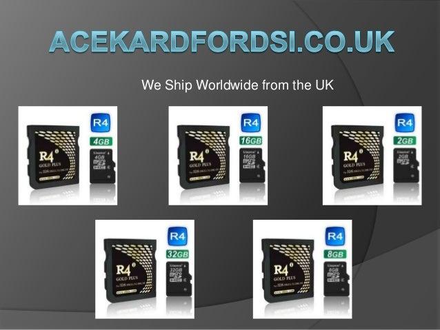 Online Buy R4 Card | R4i Gold Plus - Acekard Fordsi