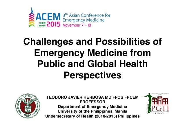Challenges and Opportunities in Emergency Medicine from