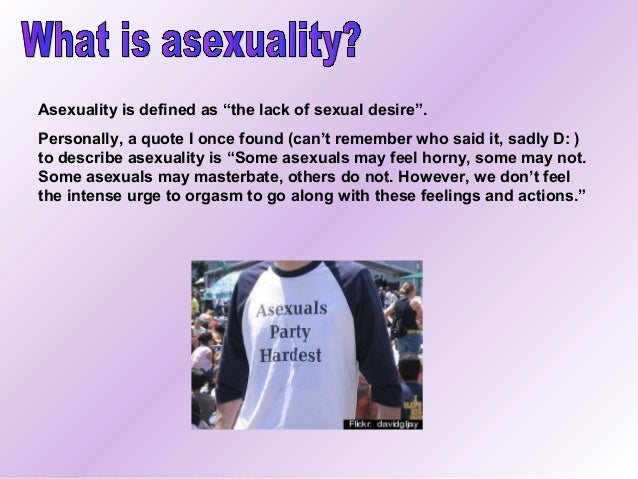 Definition of asexual person