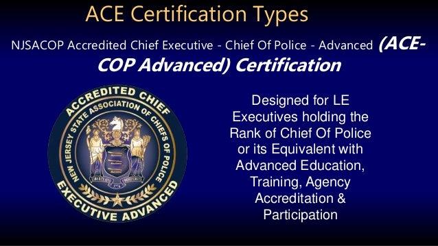 ace certification overview program