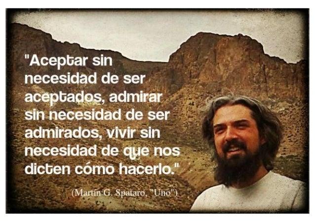 Martín G Spataro Uno Frase Del Libro Sobre Aceptación