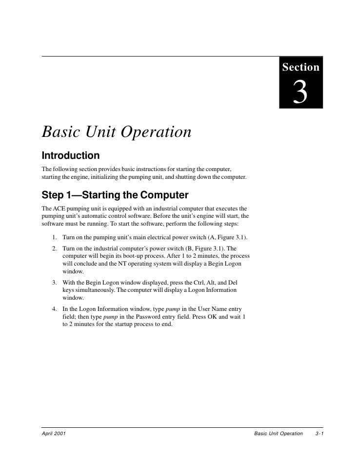 Section                                                                                                       3 Basic Unit...