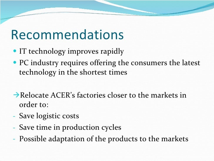 acer market segmentation Lenovo market segmentation 1094 words   5 pages lenovo's business strategy has witnessed a massive transformation over the past seven years surpassing rivals dell and acer, lenovo became the world's second largest pc vendor behind hewlett packard in its fiscal year of 2011.