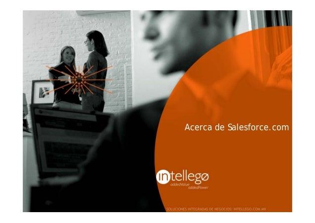 Acerca de Salesforce.com