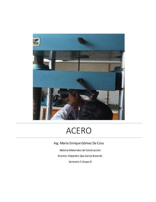 Acero - UNACH