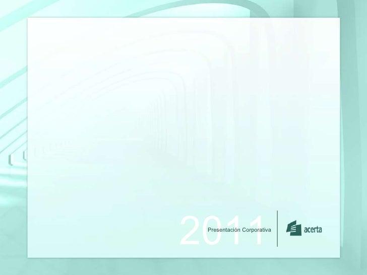 2011 Presentaci ón Corporativa