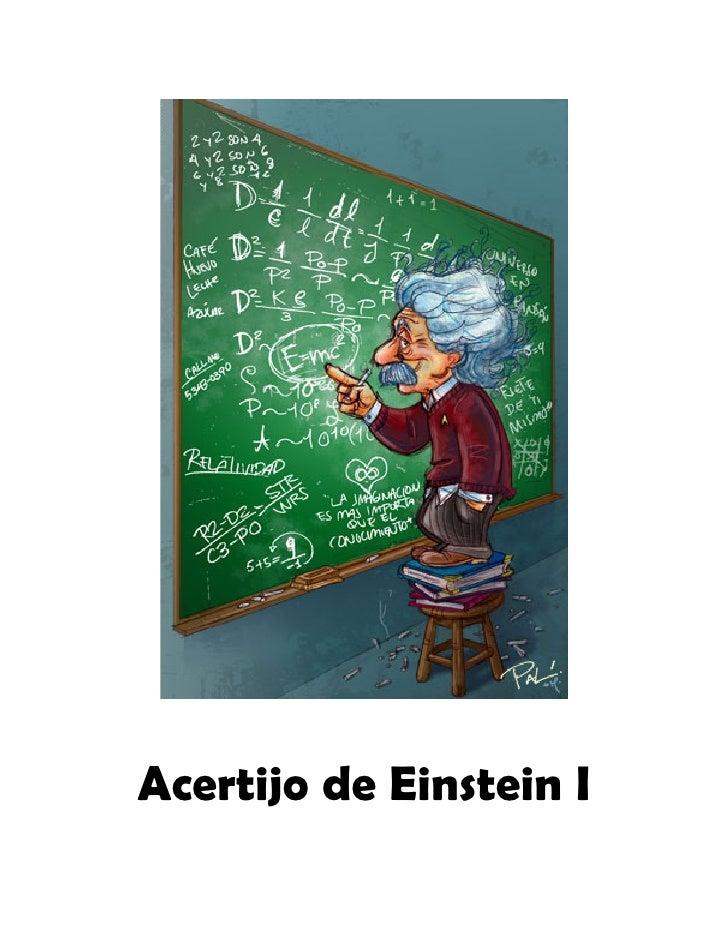 Acertijo de Einstein I
