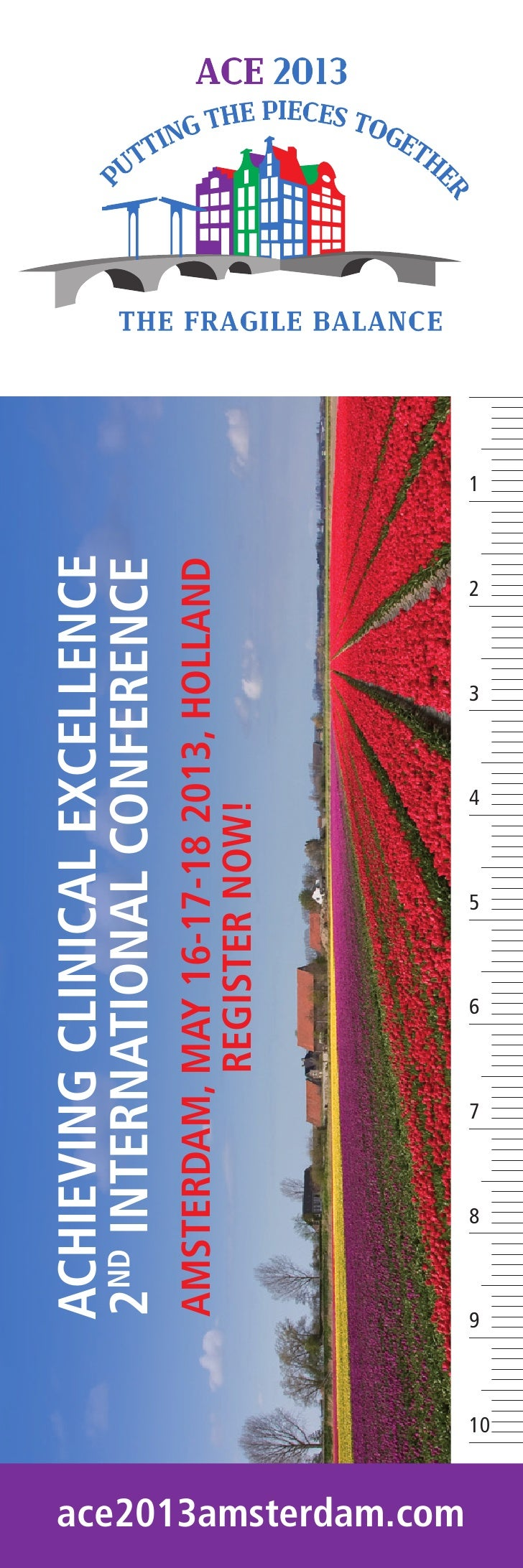 ACHIEVING CLINICAL EXCELLENCE                            2ND INTERNATIONAL CONFERENCE                            AMSTERDAM...