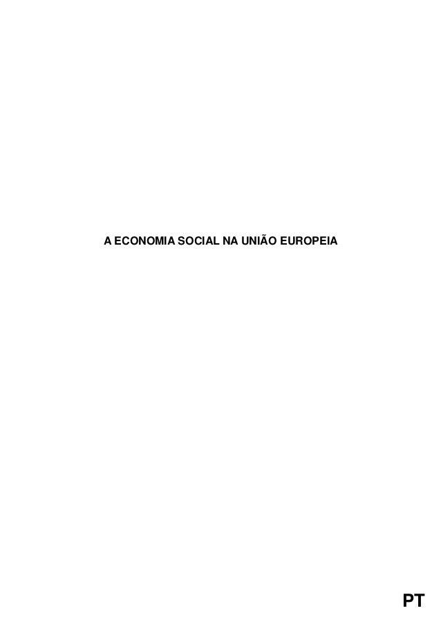 PT  A ECONOMIA SOCIAL NA UNIÃO EUROPEIA