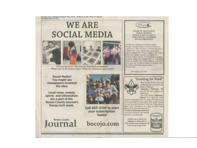 Does yournewsroom talkabout strategy forsocial media?