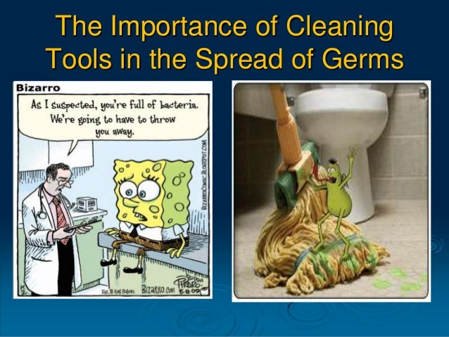 The Importance of Cleaning Tools in the Spread of Germs