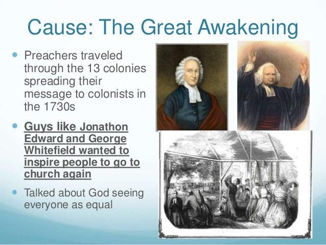 what caused the great awakening