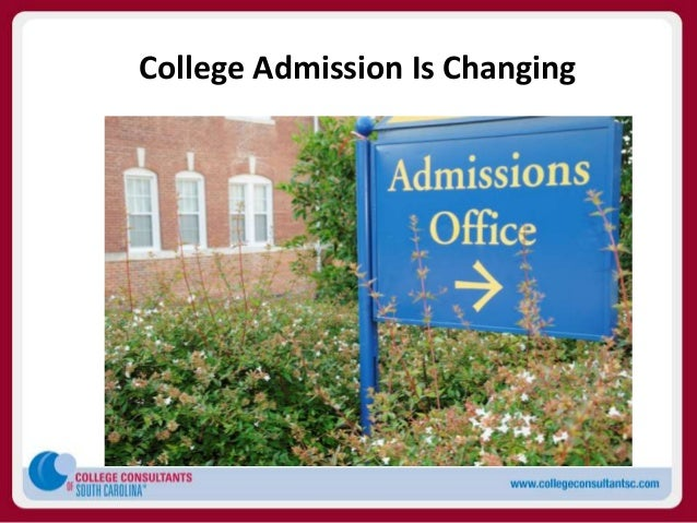 College Admission Is Changing