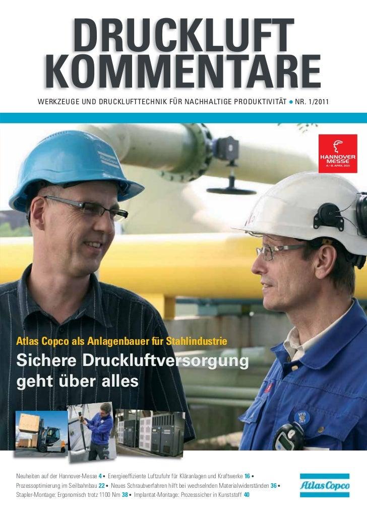 DRUCKLUFT           KOMMENTARE        WERKZEUGE UND DRUCKLUFTTECHNIK FÜR NACHHALTIGE PRODUKTIVITÄT                        ...
