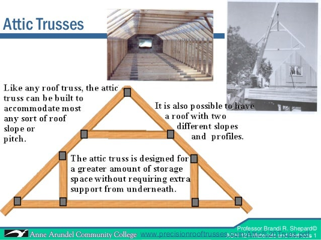 ACH 121 Lecture 09 (Roof Frame)