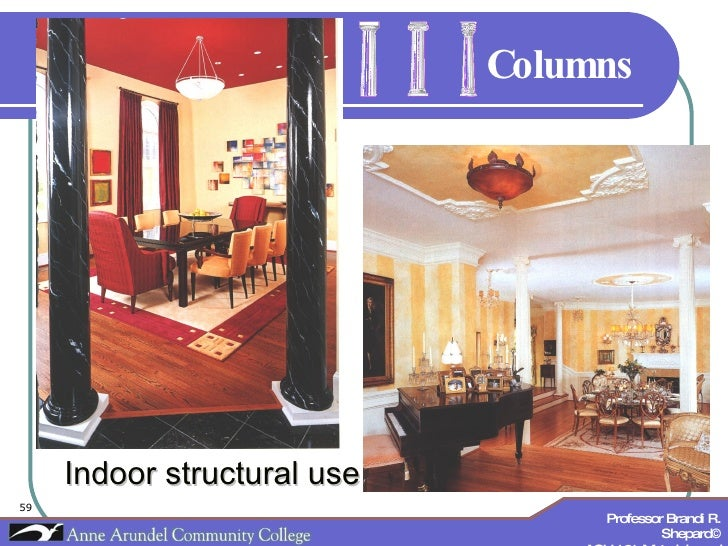 Columns Indoor structural use