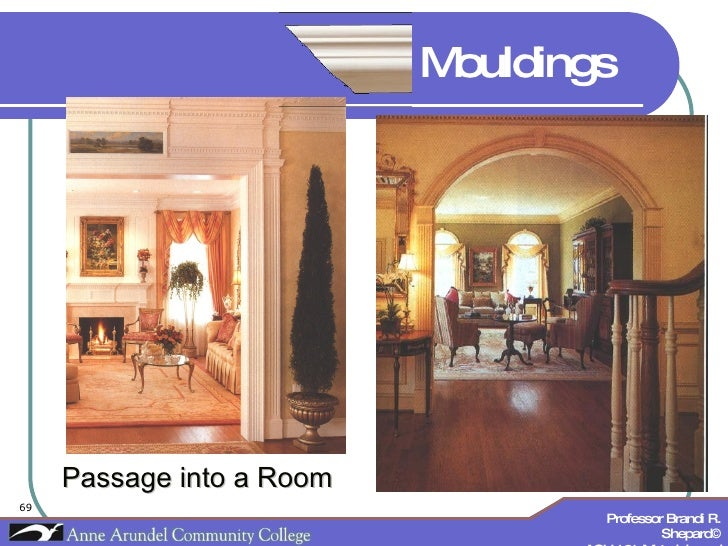 Passage into a Room Mouldings