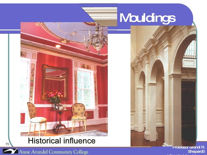 Historical influence Mouldings