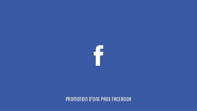 Promotiond'unepageFacebook