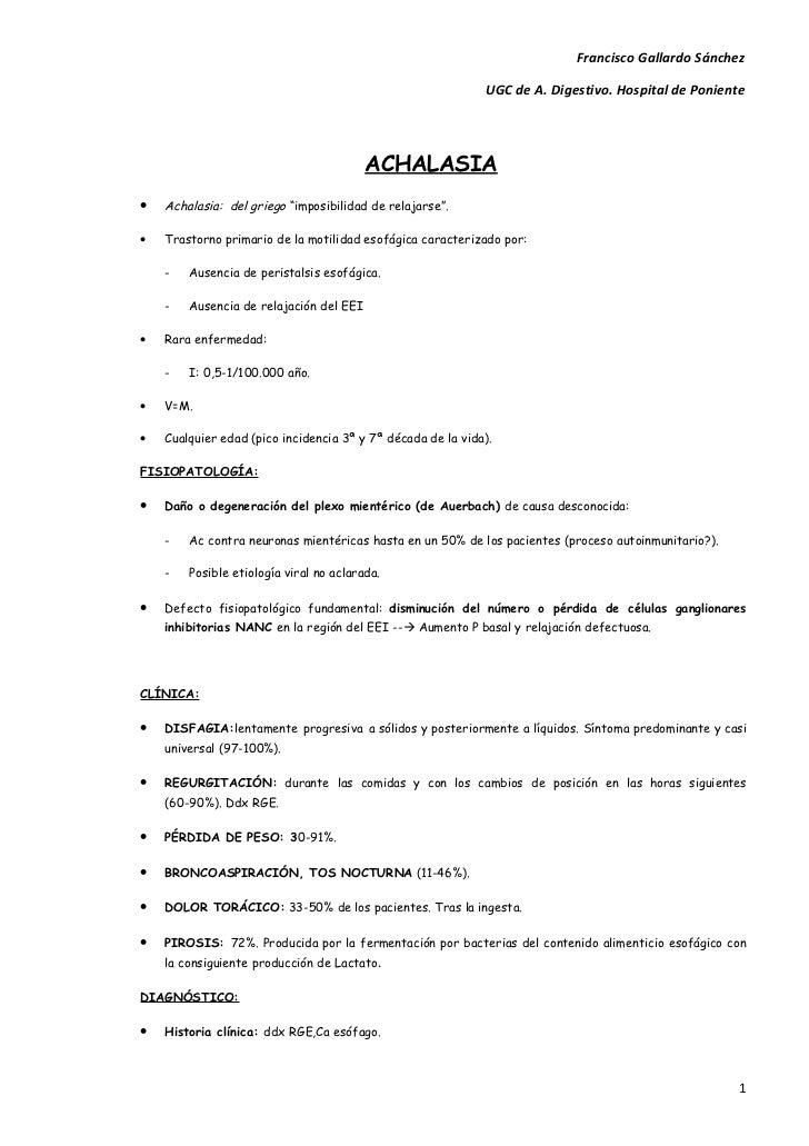 Francisco Gallardo Sánchez                                                             UGC de A. Digestivo. Hospital de Po...