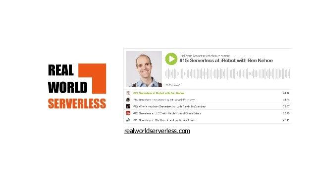 """using serverless reduces the blast radius"" www.buzzsprout.com/877747/4615985"