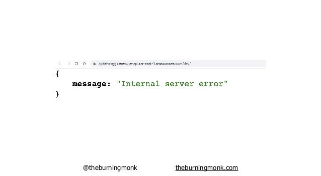@theburningmonk theburningmonk.com result: function times out after 6s (hypothesis is disproved)