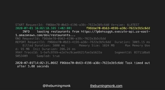 @theburningmonk theburningmonk.com API Gateway Lambda API Gateway Lambda 502 200