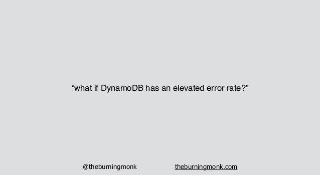 @theburningmonk theburningmonk.com API Gateway Lambda DynamoDB
