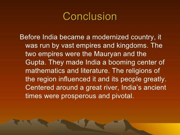 prosperous india essay