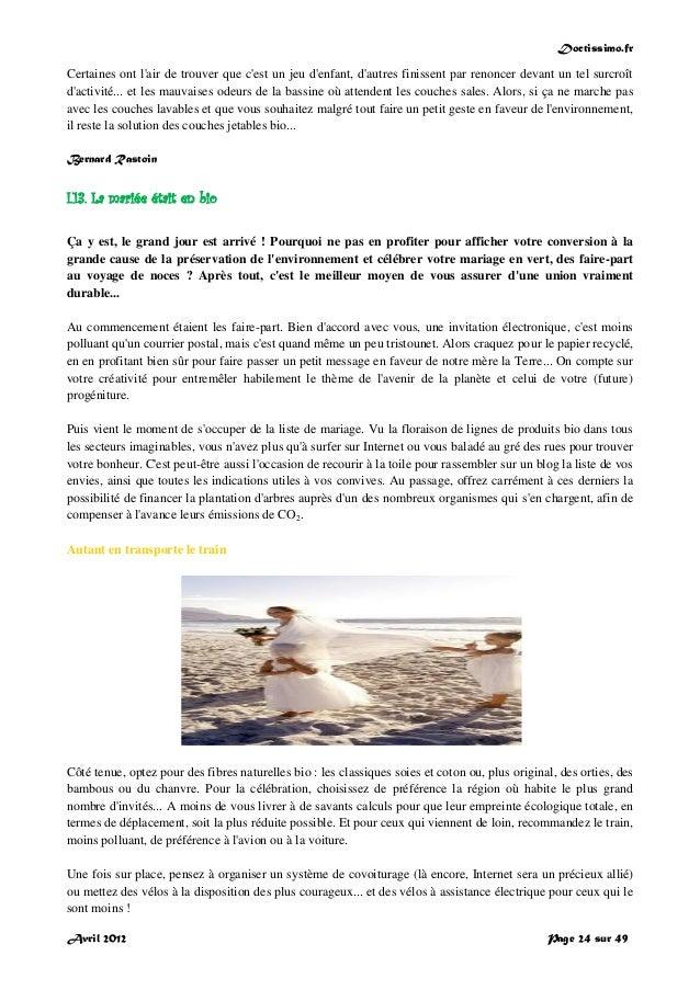 Doctissimo.fr Avril 2012 Page 24 sur 49 Certaines ont l'air de trouver que c'est un jeu d'enfant, d'autres finissent par r...