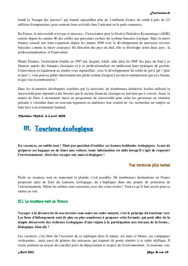 """Doctissimo.fr Avril 2012 Page 36 sur 49 fondé la """"banque des pauvres"""" qui fournit aujourd'hui plus de 3 milliards d'euros ..."""