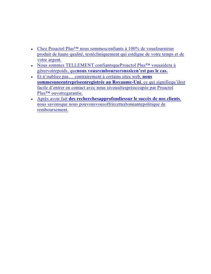 Proactolest le meilleurproduit pour maigrir. VouspouvezacheterProactol Plus en France en utilisant uncode promo et obtenez...