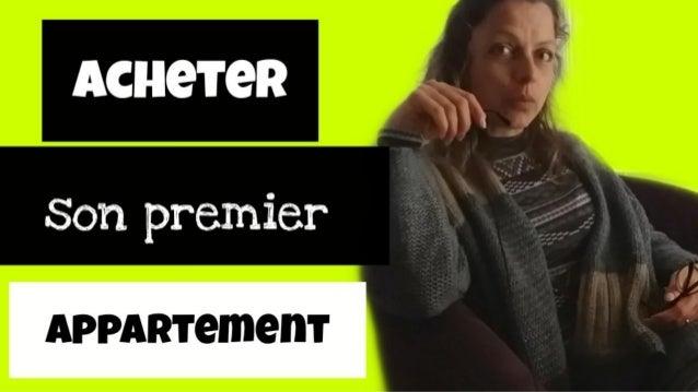 LIVE Acheter son premier appartement 06 Mai 2019