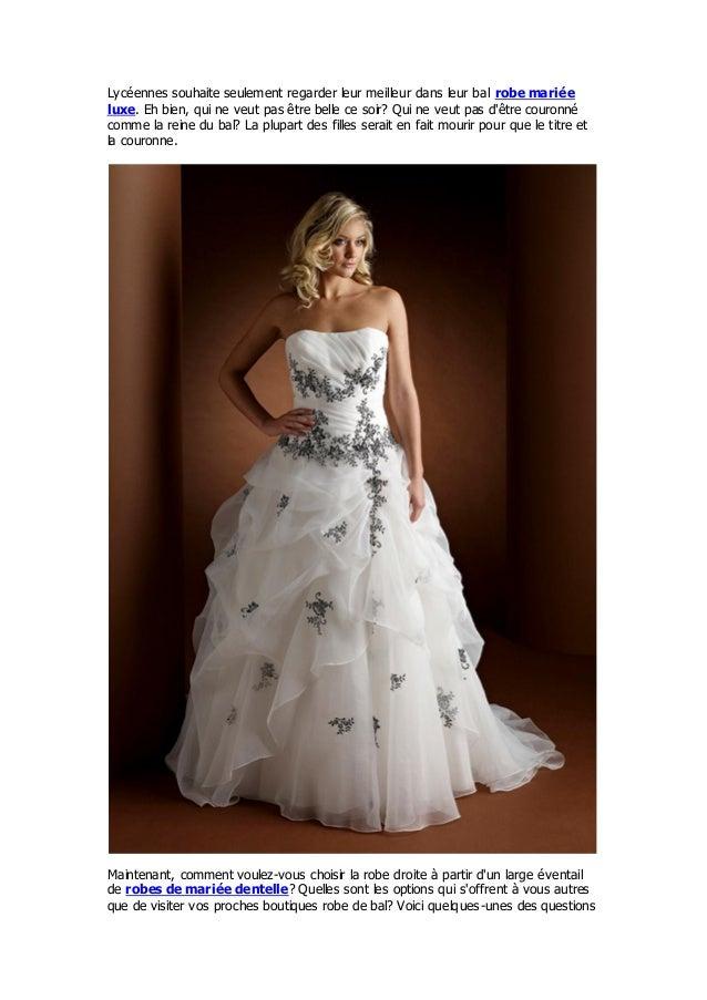 Lycéennes souhaite seulement regarder leur meilleur dans leur bal robe marié eluxe. Eh bien, qui ne veut pas être belle ce...